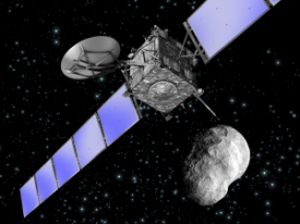 Artist_s_impression_of_Rosetta_as_it_flies_by_asteroid_Steins